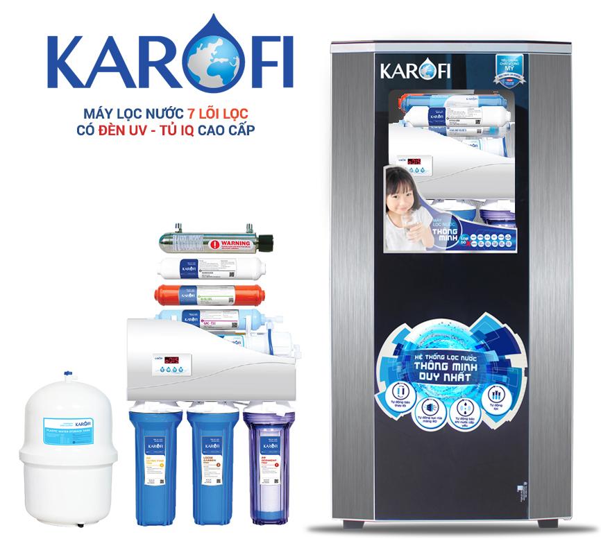 Máy lọc nước Karofi Thông minh 7 lõi K7I-1